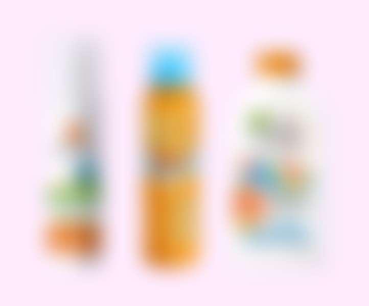 Солнцезащитное молочко и пенка для детей