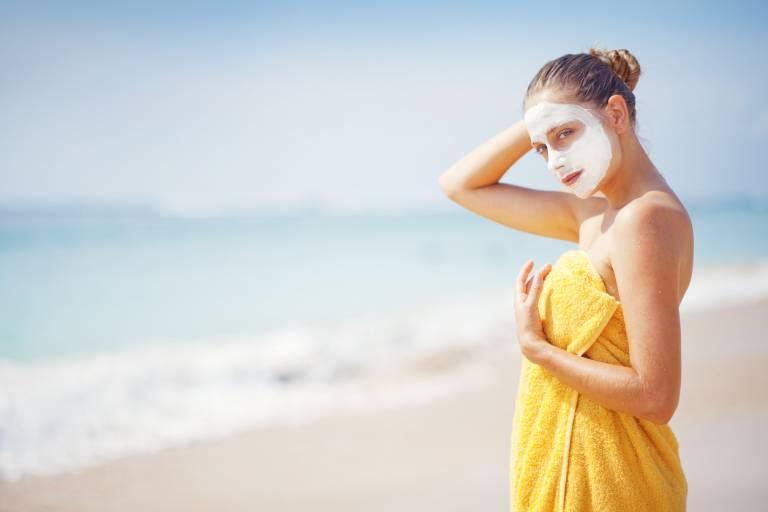 увлажняющие маски после солнца