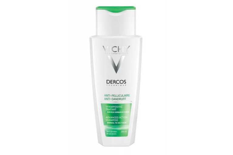Интенсивный шампунь-уход против перхоти для нормальных и жирных волос Dercos, Vichy