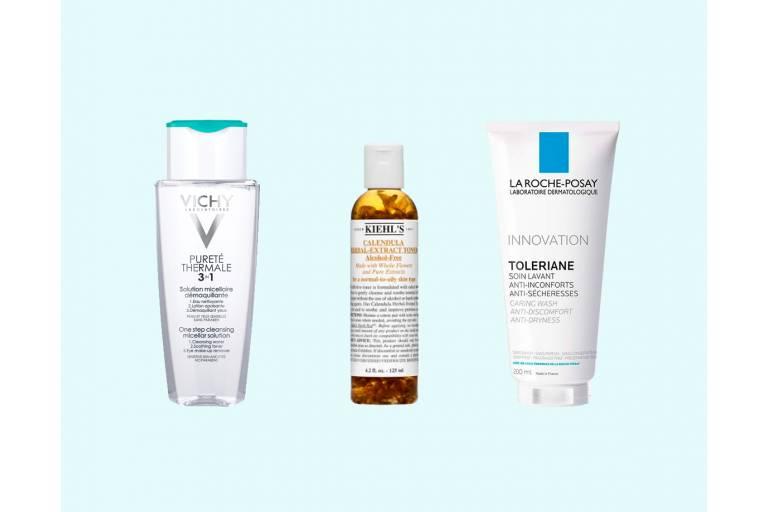 очищение чувствительной кожи