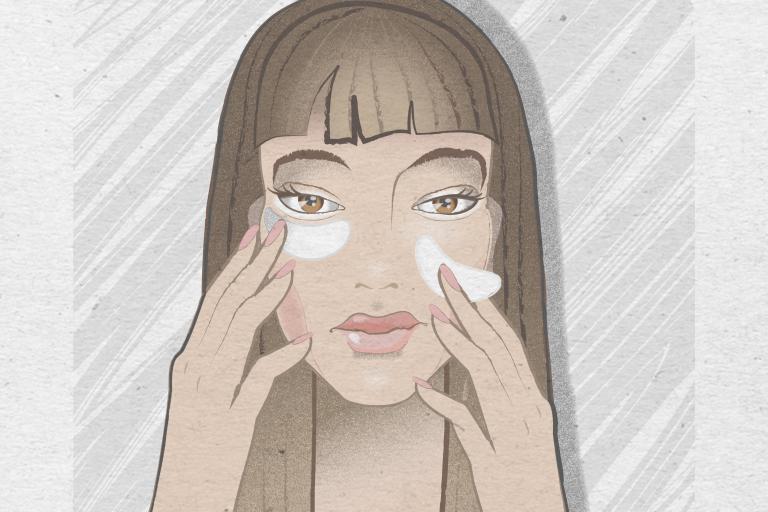 Витамины от морщинами - применение для лице, вокруг и под глазами