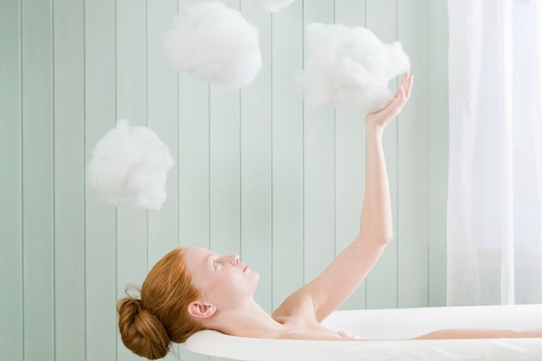 Как правильно принимать ванну