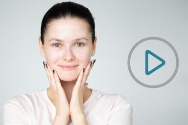 Самомассаж против носогубных складок