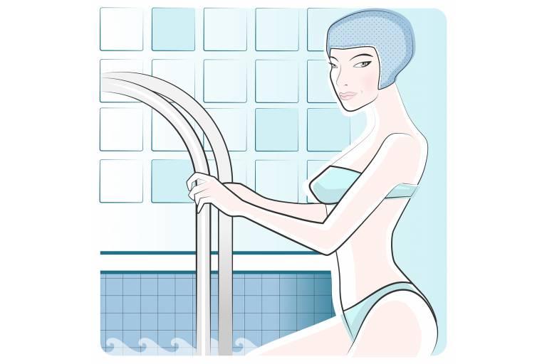 хлорированная вода сушит кожу