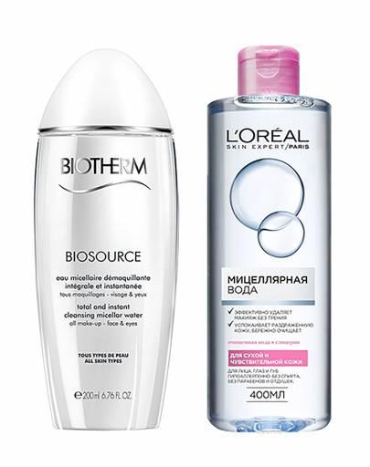 Мицелярная вода для сухой кожи
