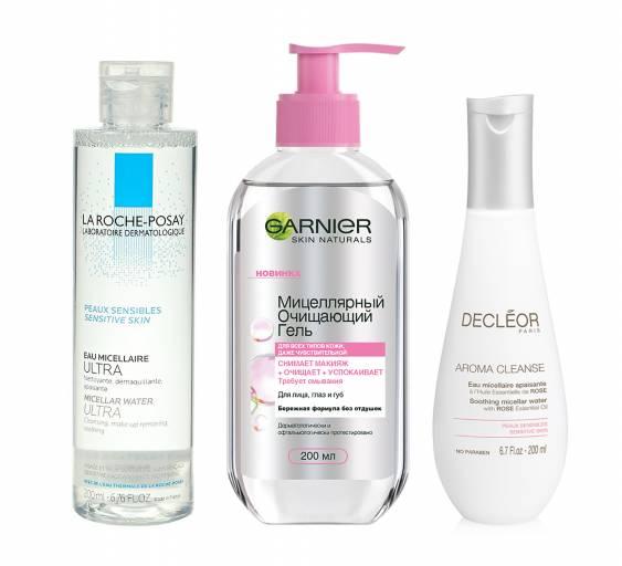 Мицелярная вода для чувствительной кожи