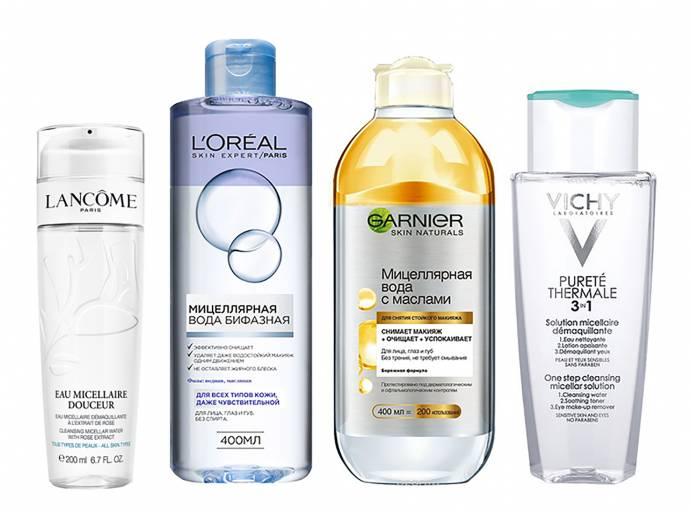 Мицелярная вода для всех типов кожи