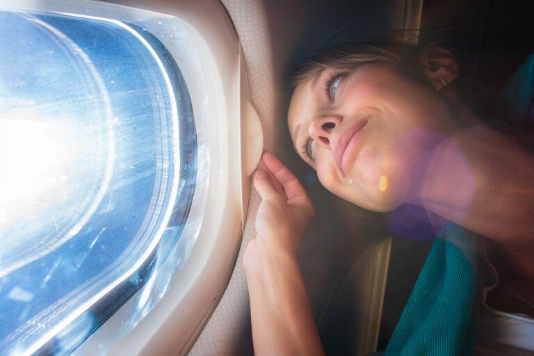 уход за кожей в самолете