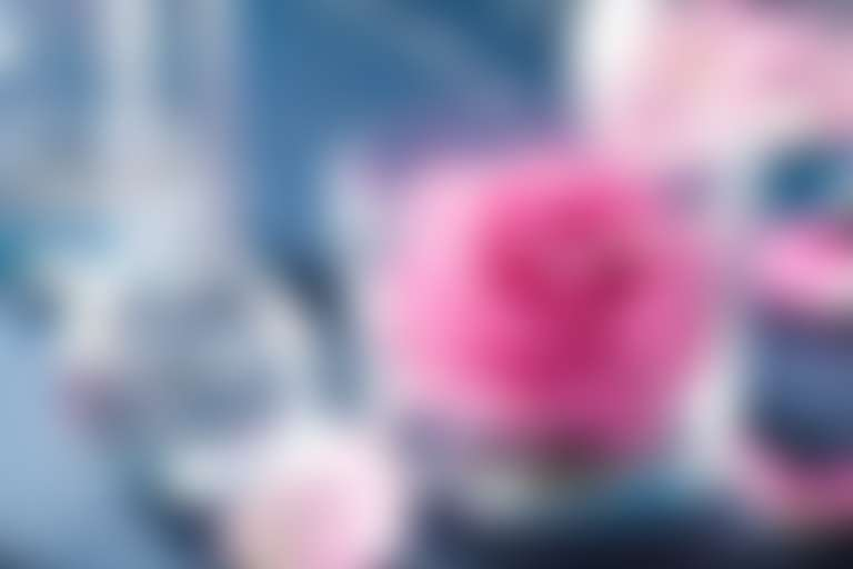 Роза в стеклянной плошке