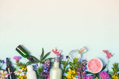 Цветы, которые используют в косметике