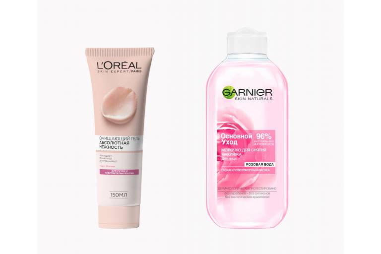 Очищающие средства с розовой водой