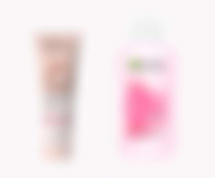 Очищающие средства с розовой водой L'Oréal Paris и Garnier