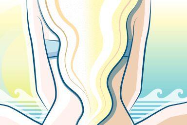 Как ухаживать за волосами после отпуска, чтобы быстро вернуть их к жизни