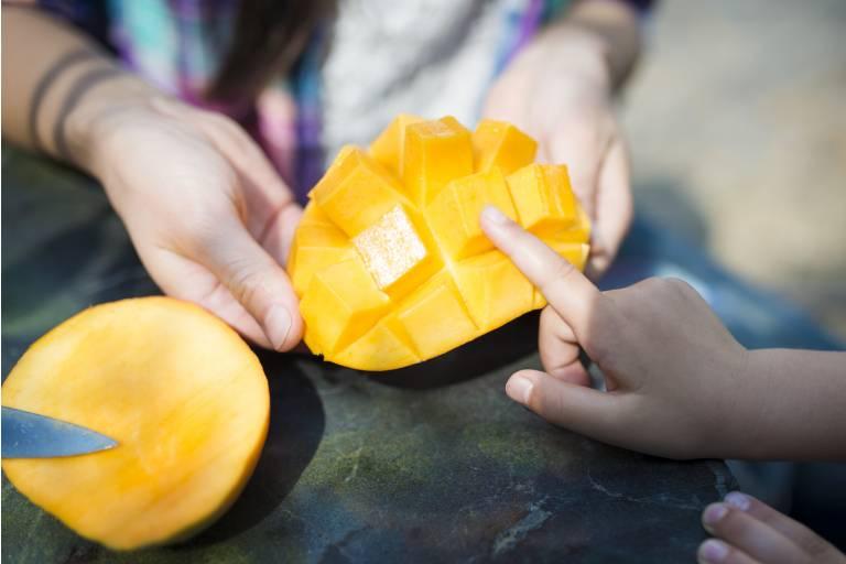 маска из манго