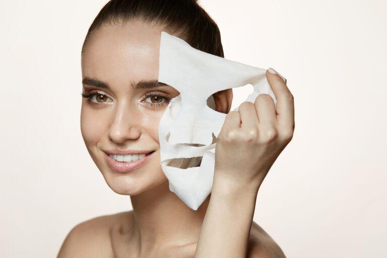 Тканевые маски Garnier