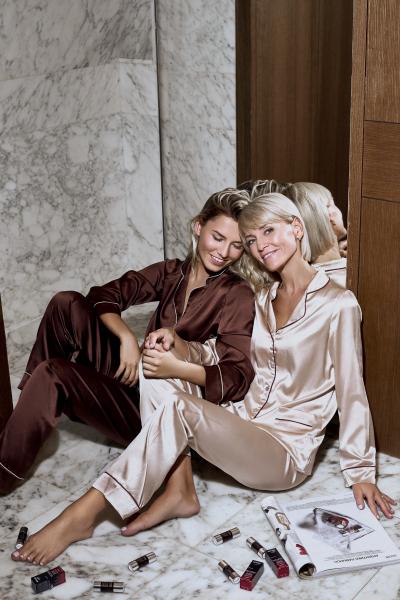 Дарья Костромитина с мамой