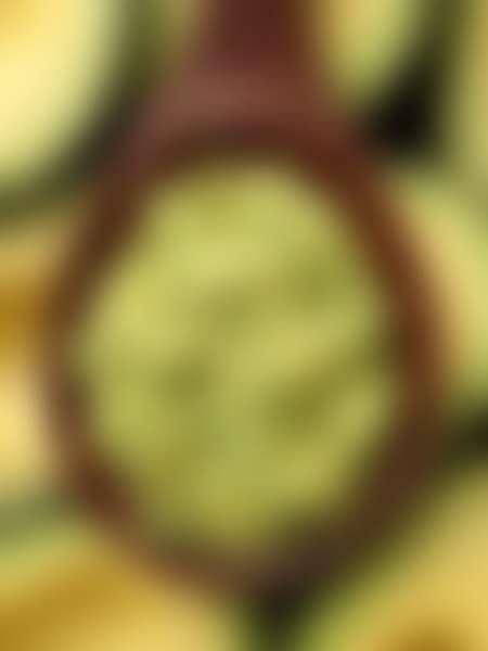 Измельченная мякоть авокадо