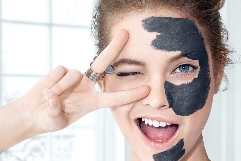 Черная маска для лица от черных точек. Обзор лучших средств || Корейская маска от черных точек