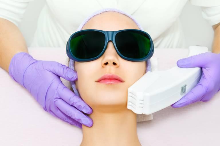 Фототерапия против гиперпигментации