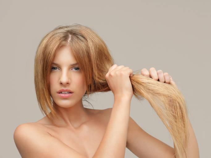 Сухая кожа головы и волосы