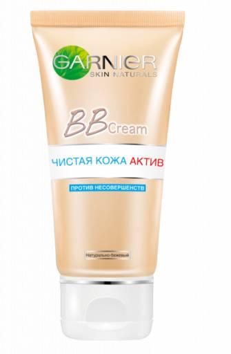 """BB-крем """"Чистая кожа актив"""" SPF 15 для проблемной кожи, Garnier"""