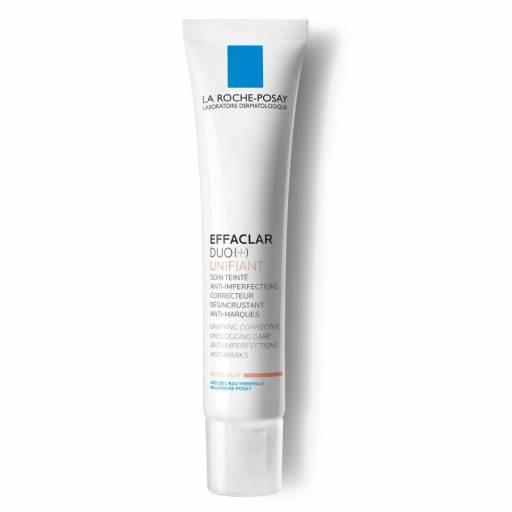 Корректирующий крем-гель для жирной проблемной кожи с тонирующим эффектом Effaclar Duo+ Тонирующий, La Roche-Posay
