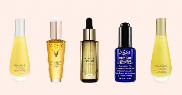 Косметика с маслами для сухой кожи
