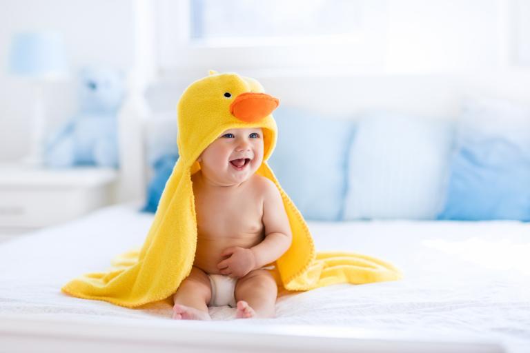 Увлажнение сухой кожи у детей