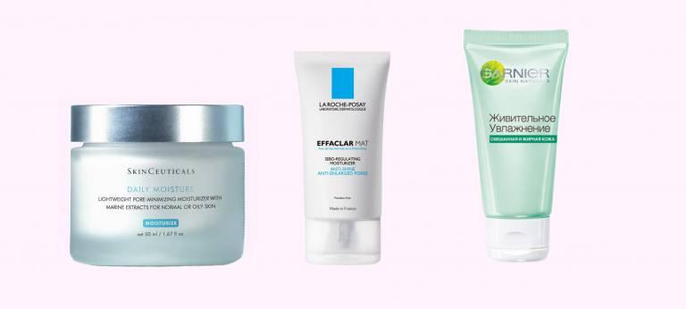 Увлажняющие средства для жирной кожи