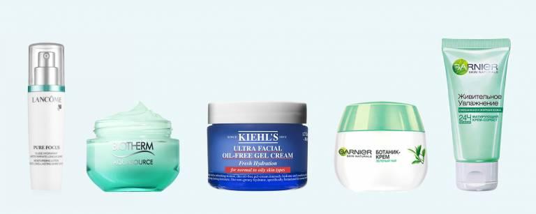 увлажняющие кремы для жирной кожи