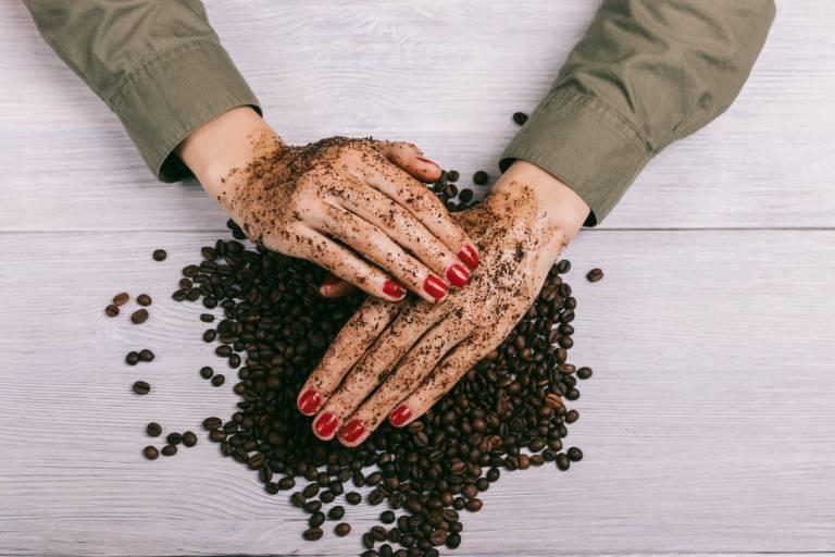 Скраб для сухой кожи рук