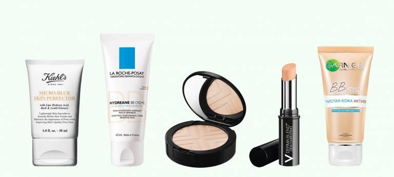 Средства для макияжа при проблемной коже