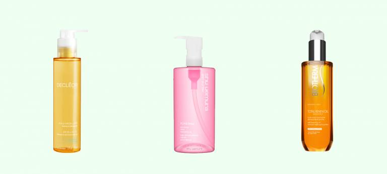 Гидрофильные масла для снятия макияжа