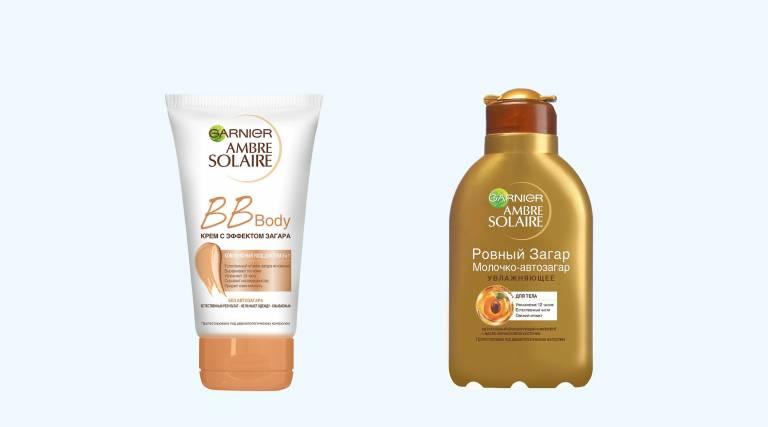 BB-крем с эффектом загара BB Body, Garnier, Молочко-автозагар «Ровный загар» для лица и тела, Garnier
