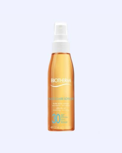 Питательное солнцезащитное масло для тела Huile Soyeuse SPF 30, Biotherm