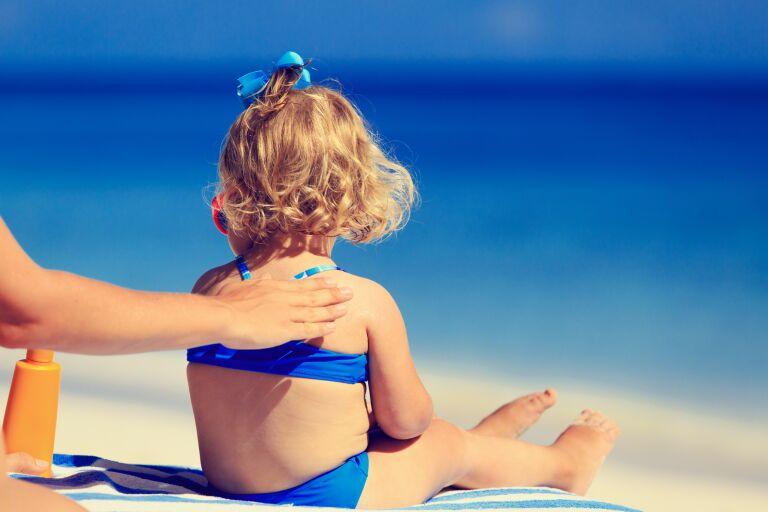 средства для защиты детей от солнца