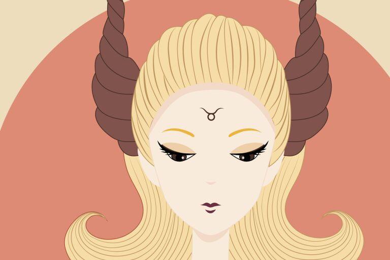 знак зодиака телец в образе девушки