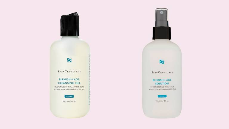 Blemish & Age Cleansibg Gel, Blemish & Age Solution, SkinCeuticals
