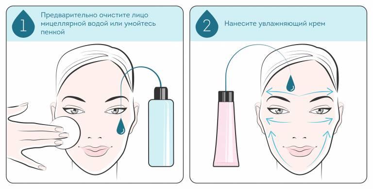 схема макияжа для проблемной кожи
