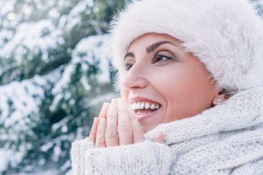 Увлажнение зимой для разных типов кожи