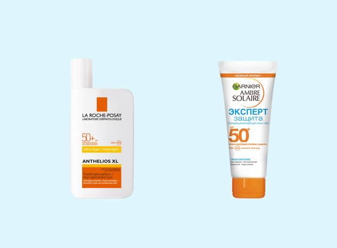 Защита от солнца/крем для загара для чувствительной кожи