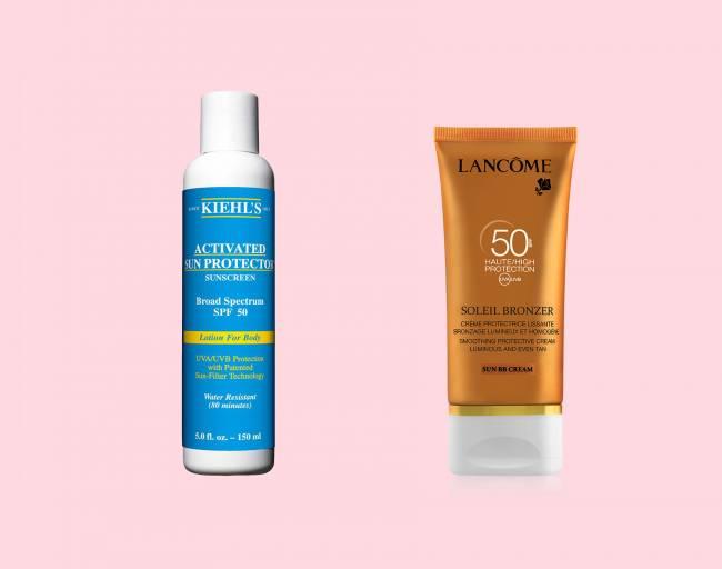 Защита от солнца /крем для загара для сухой кожи