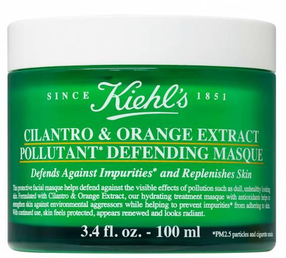 Ночная маска для защиты от агрессивных факторов окружающей среды Cilantro & Orange Extract Pollutant Defending Masque, Kiehl's