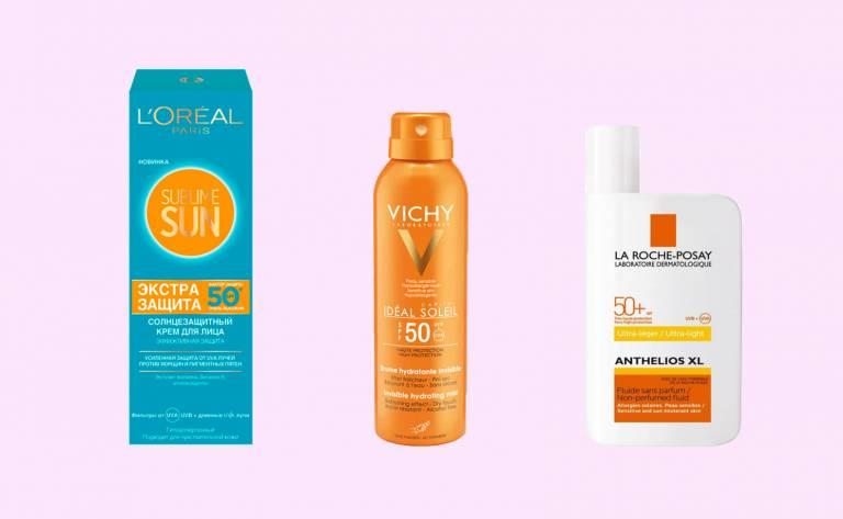 Солнцезащитные средства с антиоксидантами