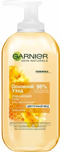 Очищающий гель «Цветочный мед» для сухой кожи  Garnier