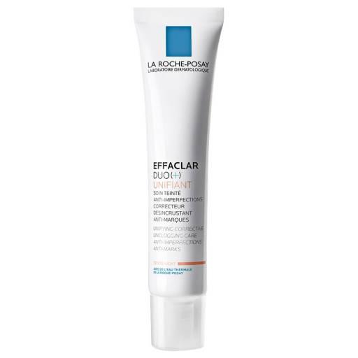 Корректирующий крем-гель для проблемной кожи с тонирующим эффектом Effaclar Duo (+) Unifant La Roche-Posay
