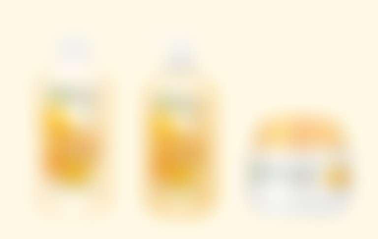 Garnier Цветочный мед Молочко, Тоник и Ботаник-крем