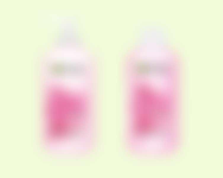 Очищающий крем-гель и успокаивающий витаминный тоник с розовой водой, Garnier