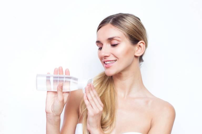 Очищение кожи без воды