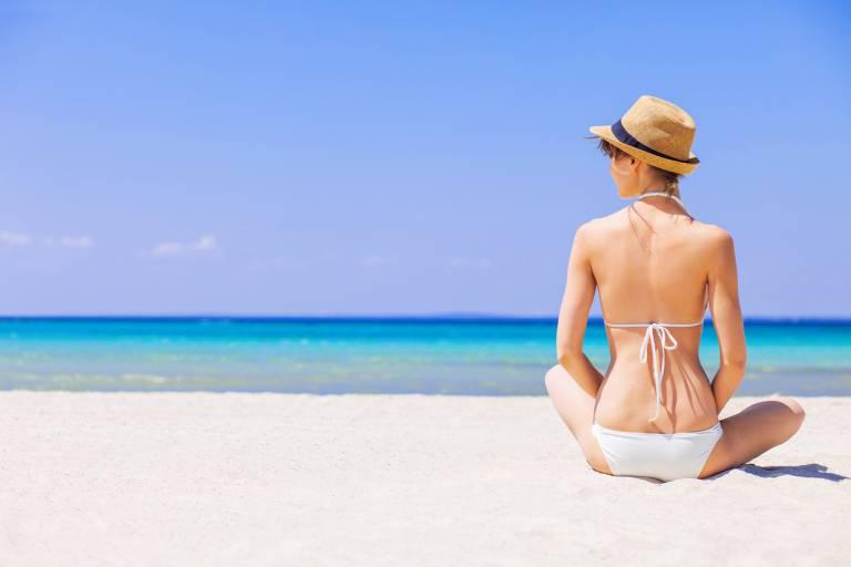Защита от солнца на пляже